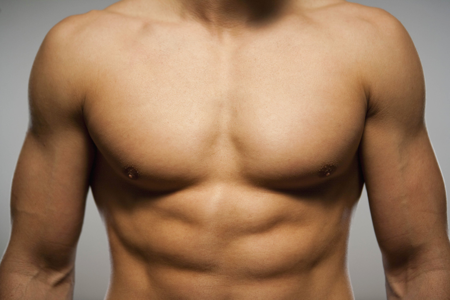 men's smooth chest