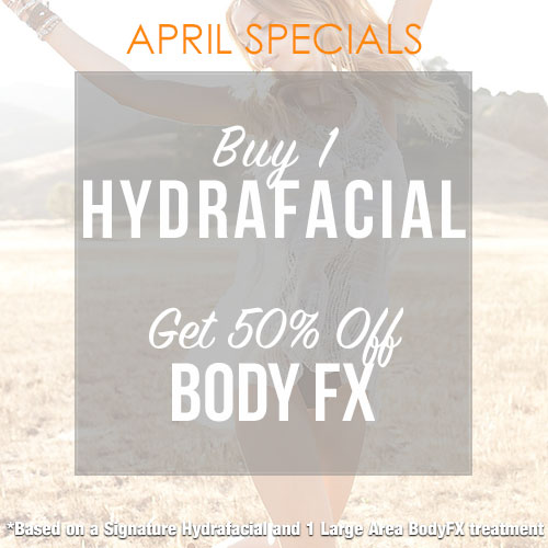 body fx and hydrafacial discount